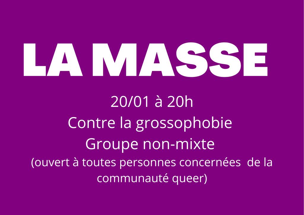 LA MASSE(1)